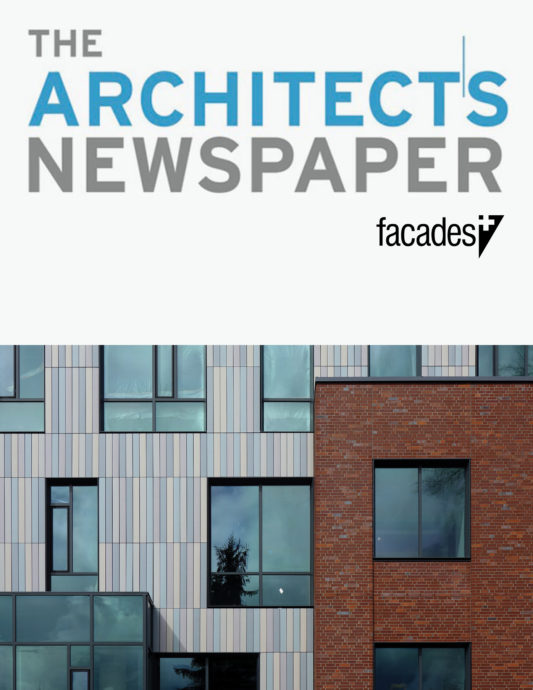Tykeson Hall in The Architect's Newspaper Facades+