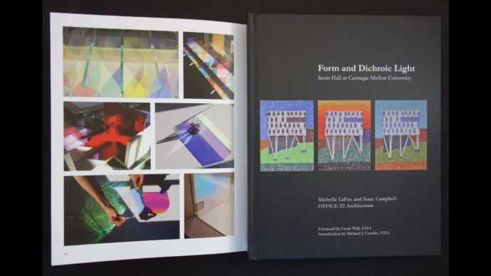 Graphic Design:  Form and Dichroic Light Book Publication