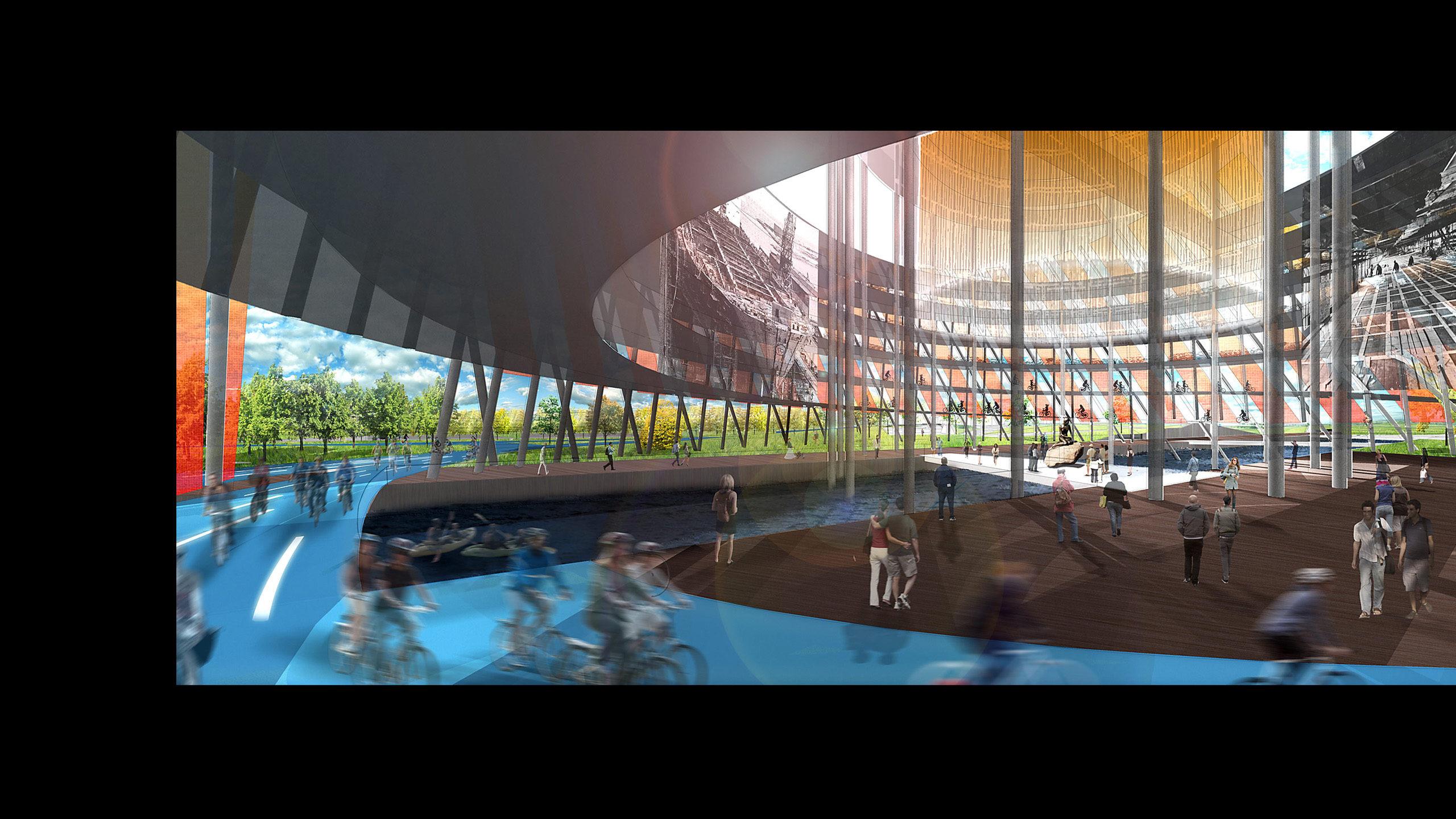 Refshaleoen Redevelopment: Motion Actuation Urban Design / image 5