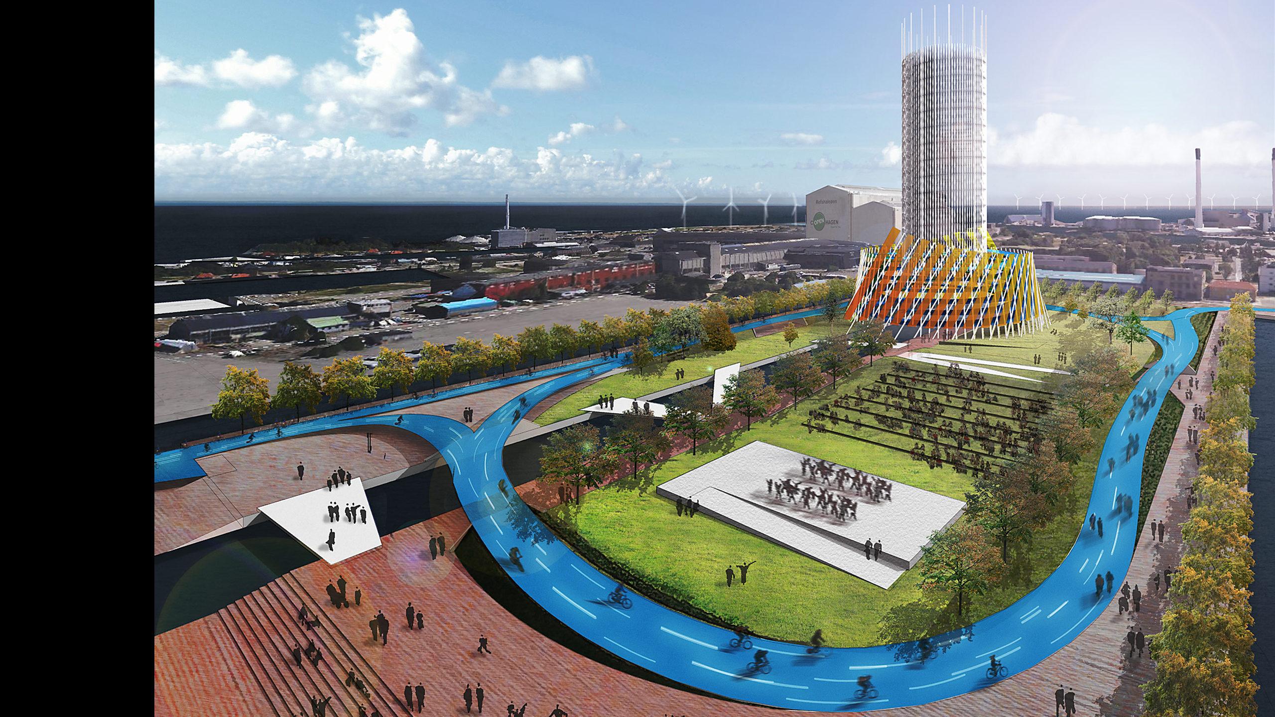 Refshaleoen Redevelopment: Motion Actuation Urban Design / image 3