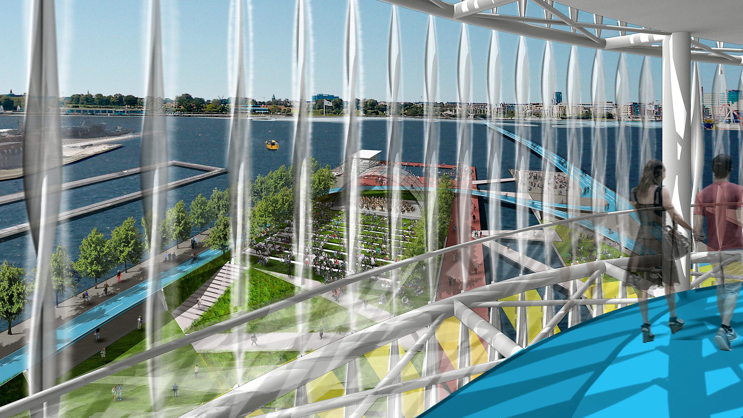 Refshaleoen Redevelopment: Motion Actuation Urban Design / image 6