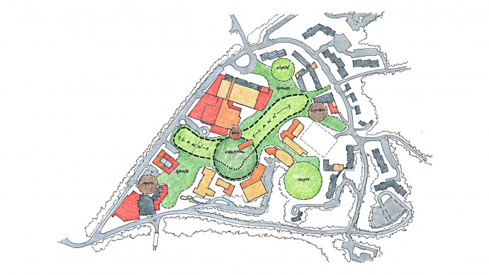 Messiah College Core Campus Planning Study