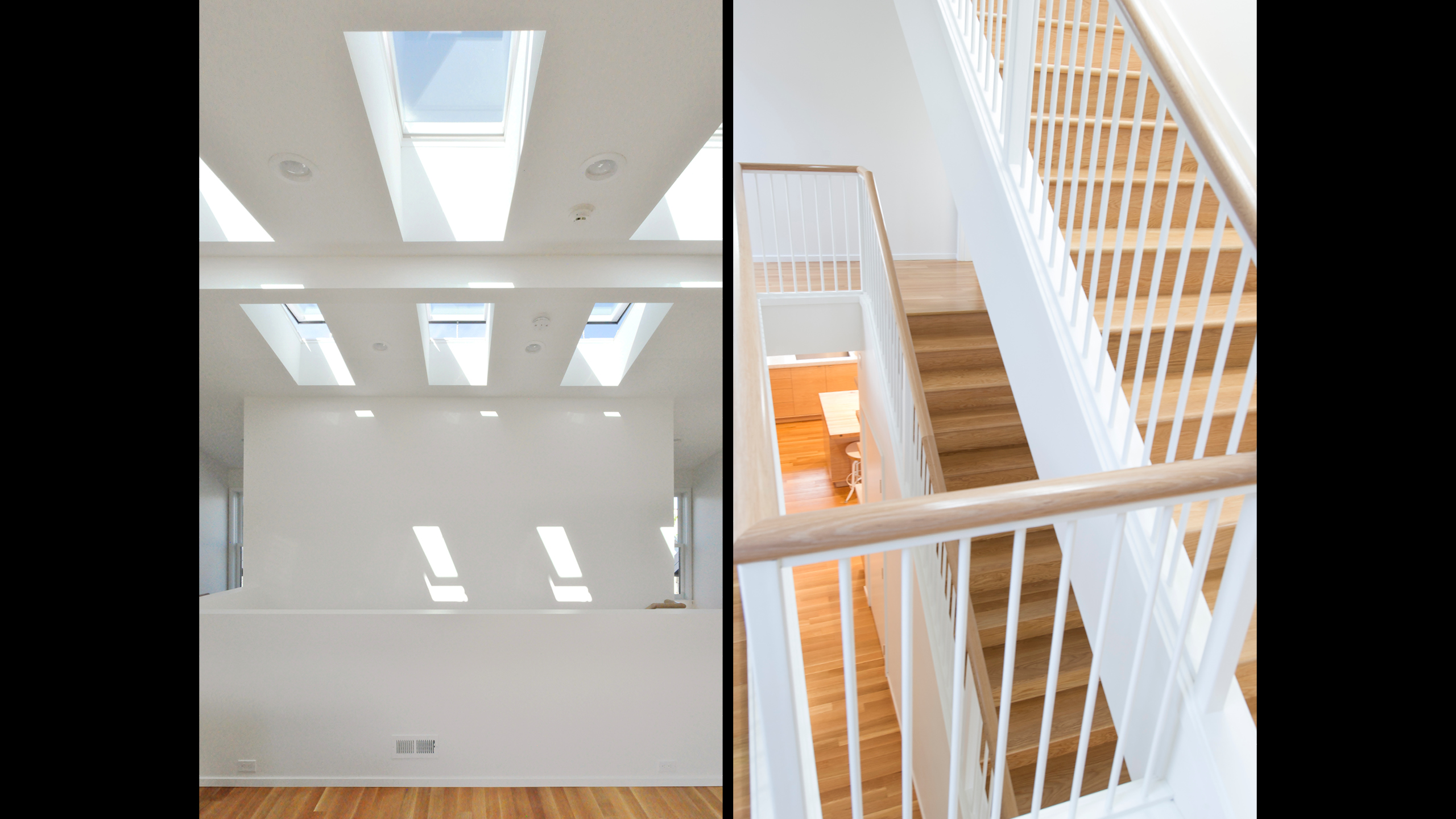 House C / image 2 / House C, natural light and stairway, design by OFFICE 52 Architecture