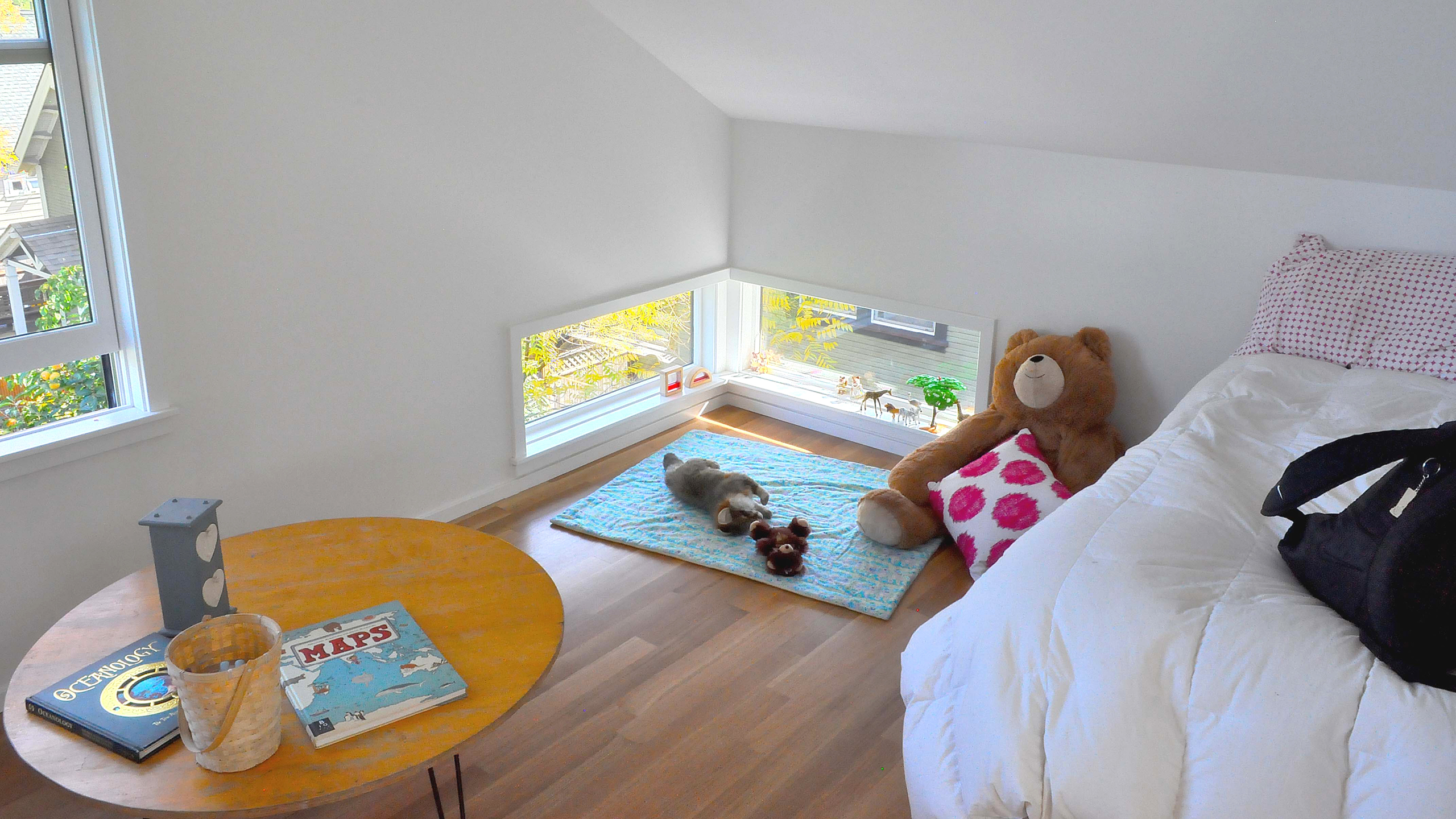House C / image 18 / House C design by OFFICE 52 Architecture, peek-a-boo windows