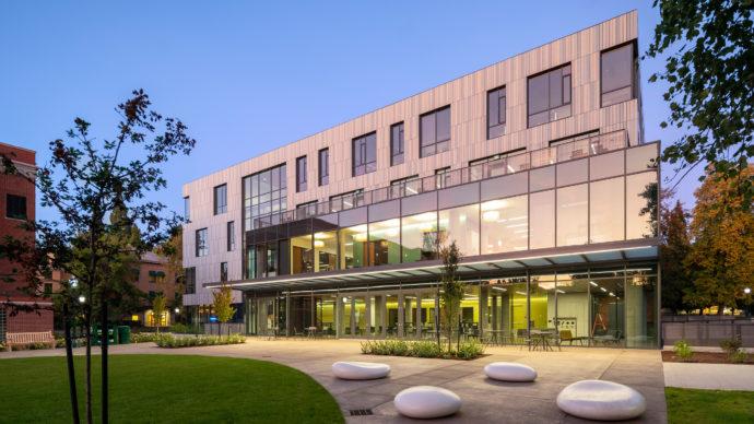 Tykeson Hall, University of Oregon, OFFICE 52 Architecture