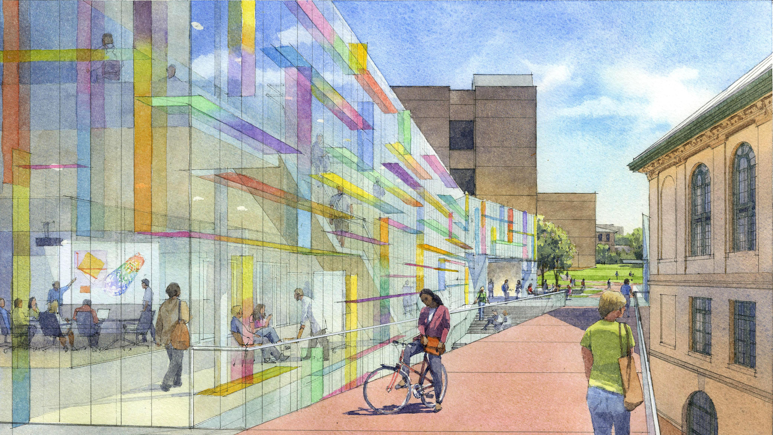 Competition winning design – Nanotechnology Biotechnology and Energy Technologies Building for the CMU College of Engineering / image 4