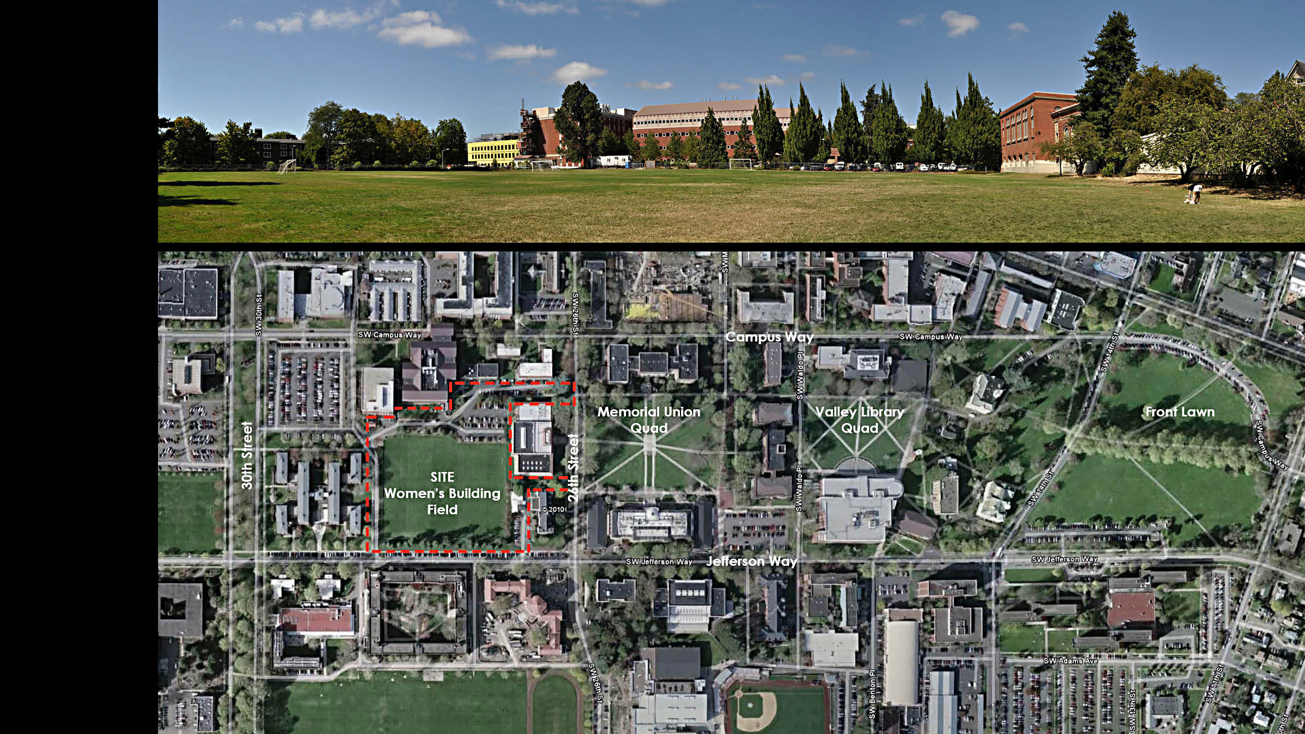 Women's Field Quad, College of Business Planning Study – Oregon State University / image 1