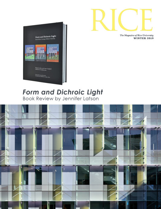 Form and Dichroic Light Book Review by Jennifer Latson