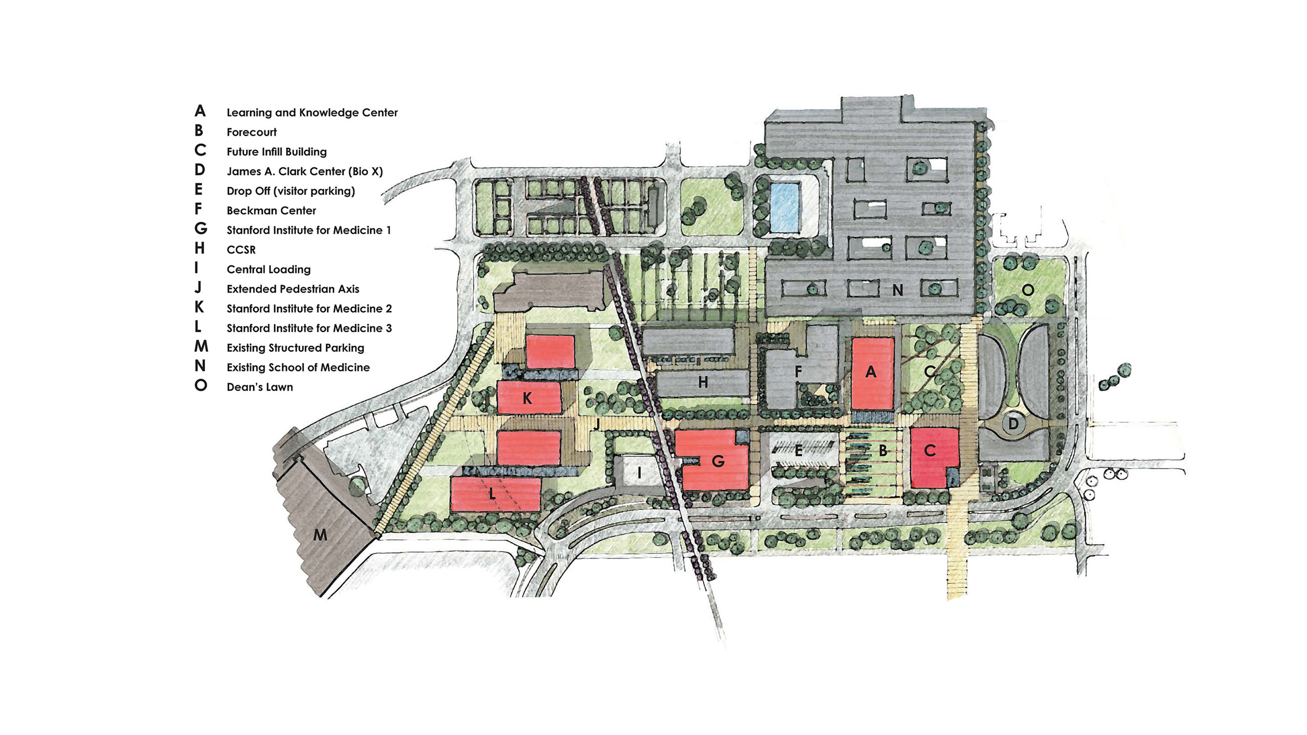 Stanford School of Medicine Master Site Plan – Stanford University image 2