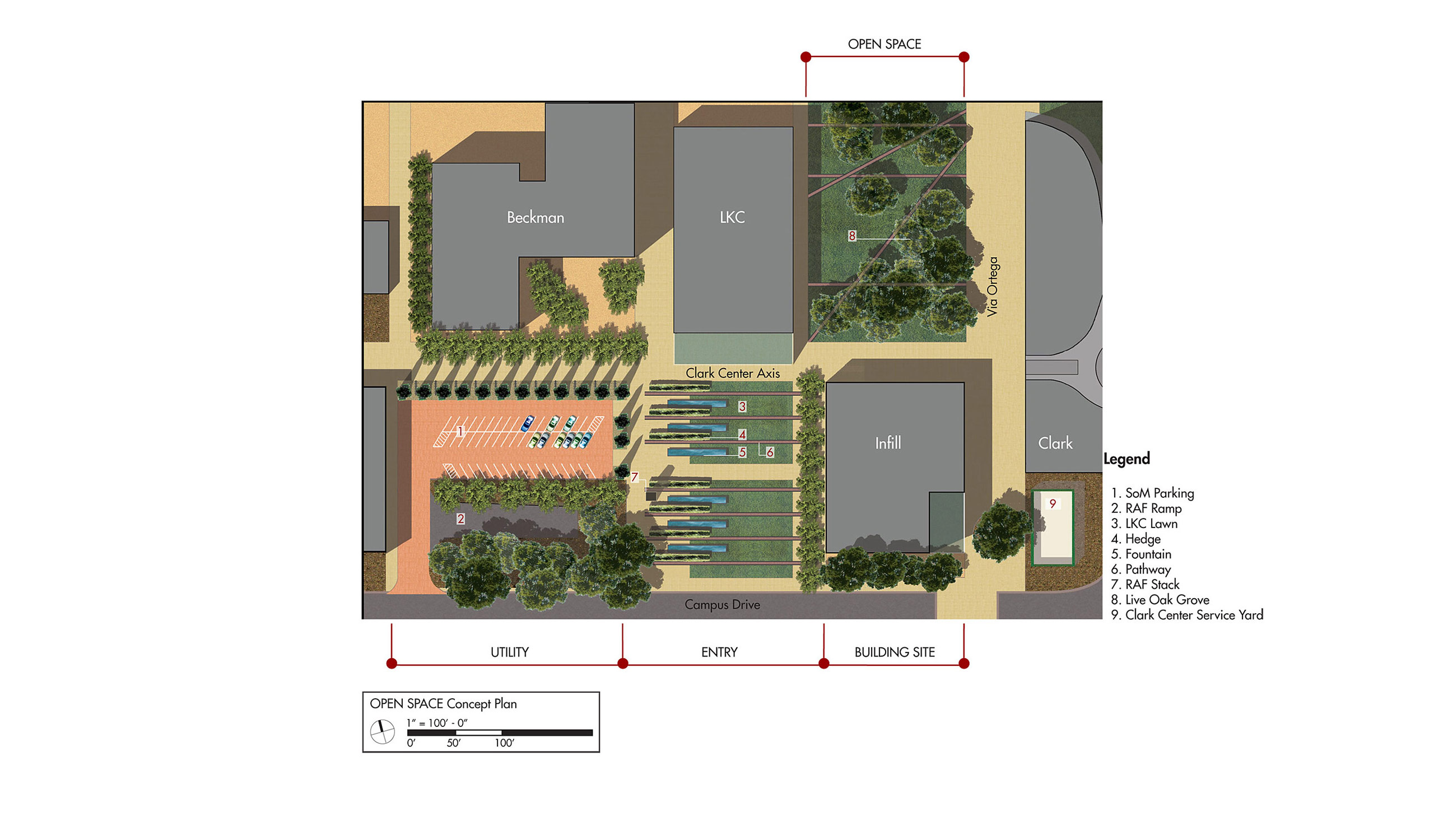 Stanford School of Medicine Master Site Plan – Stanford University image 5