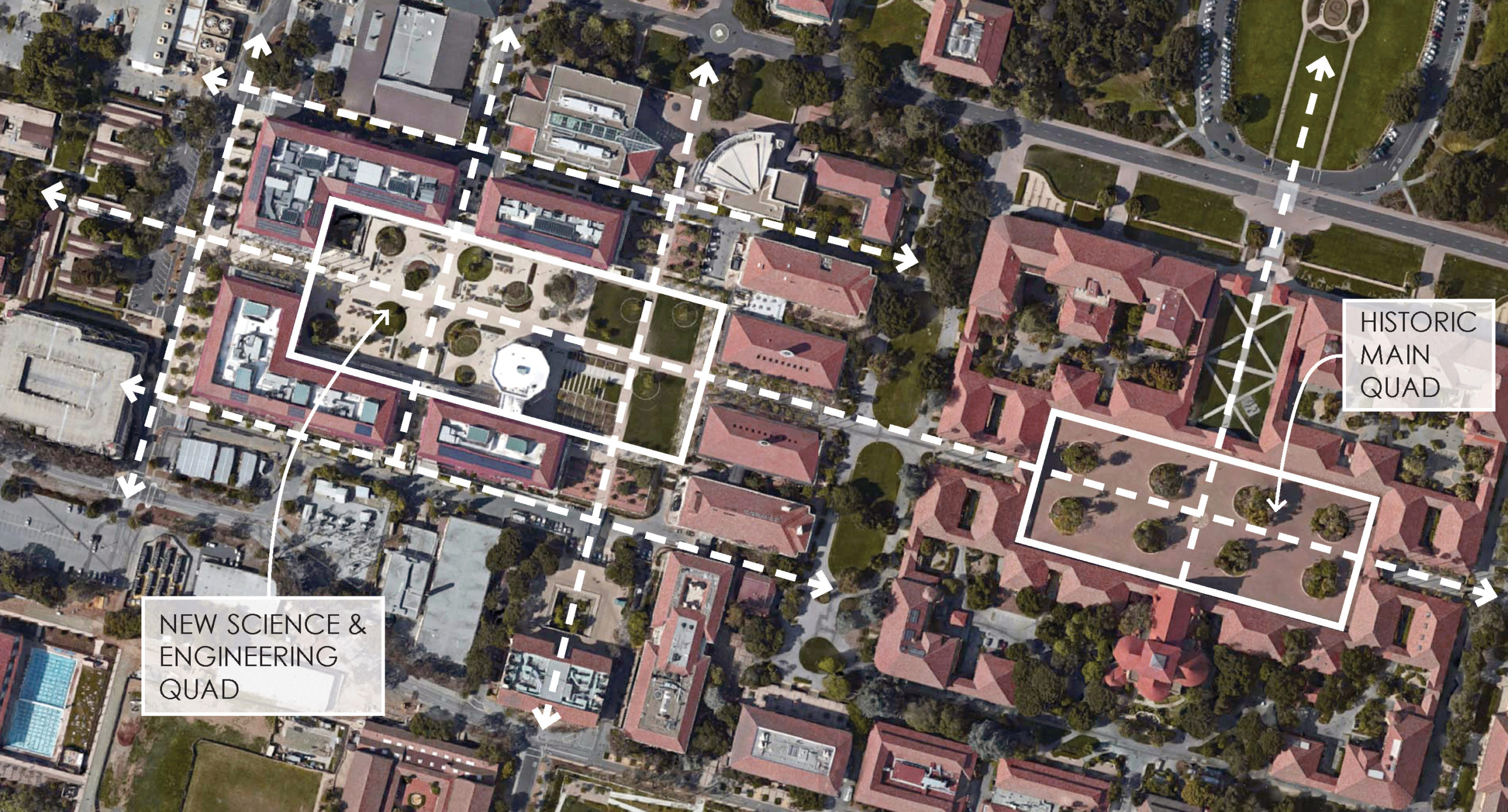 Science and Engineering Quad Master Plan and Design Guidelines at Stanford University / image 3
