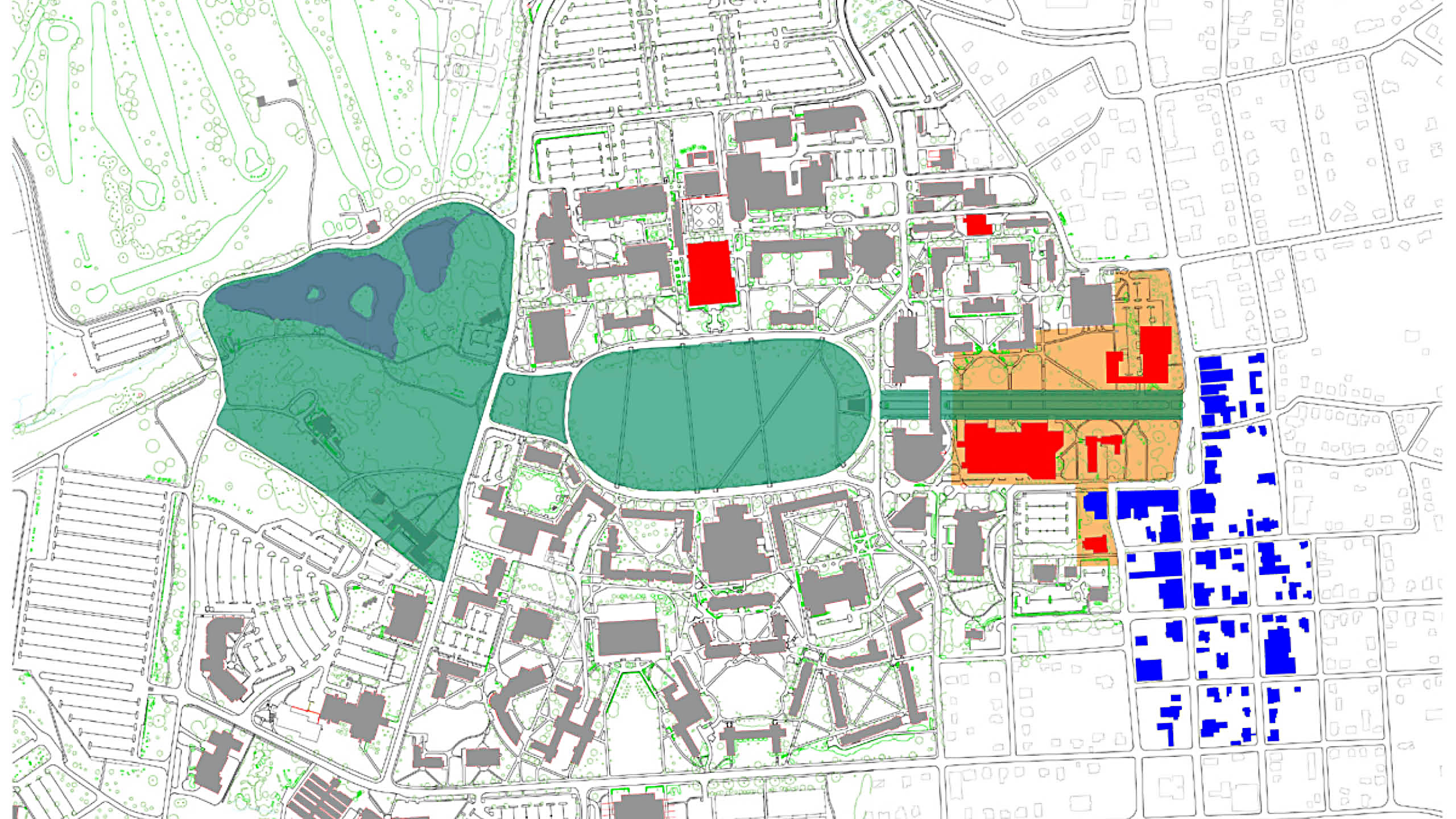 Arts Precinct Plan – Virginia Tech / image 1