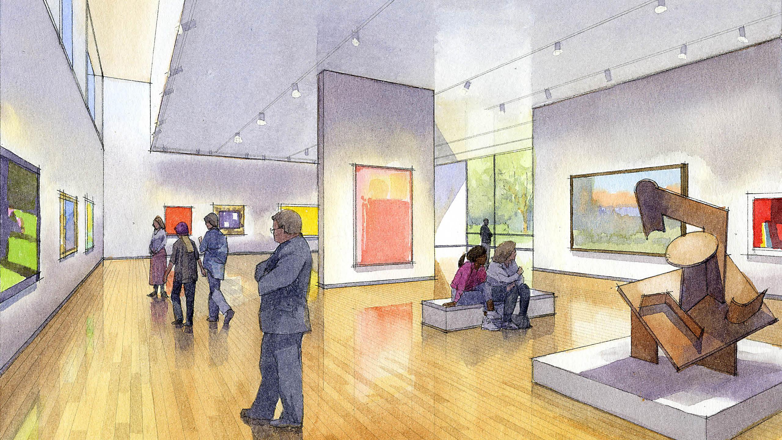 Creative Arts Center Study at Virginia Tech / image 7