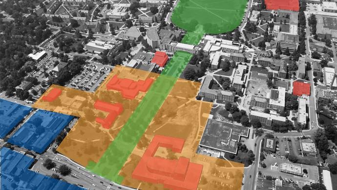 Arts Precinct Plan at Virginia Tech