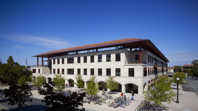 Yang and Yamazaki Environment and Energy Building at Stanford University